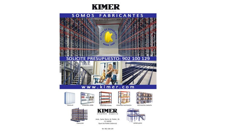 KIMER estará presente por sexto año consecutivo en EMPACK & LOGISTICS 2017 en Madrid
