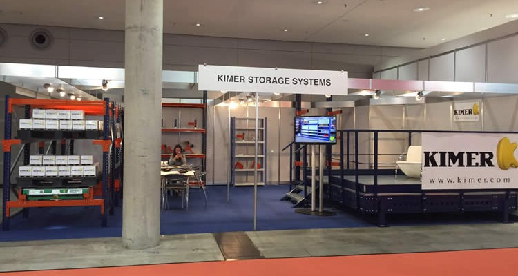 Kimer mostró en LogiMAT 2016 sus soluciones al mercado internacional